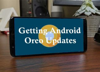 Getting Android Oreo Update