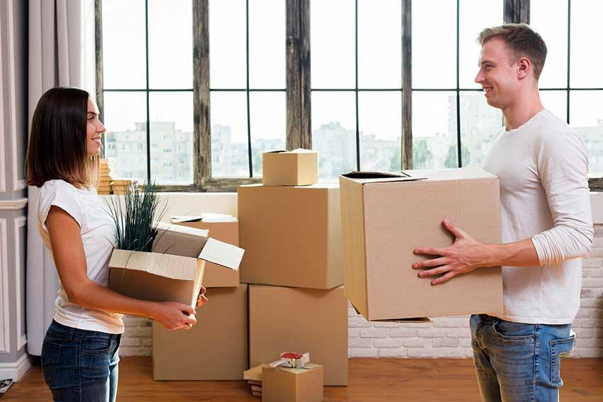 Cardboard boxe daily life