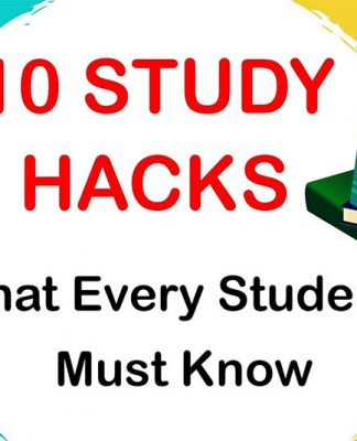 Ten Study Hacks For The Students