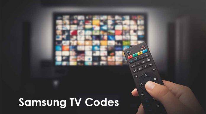 Samsung TV Codes