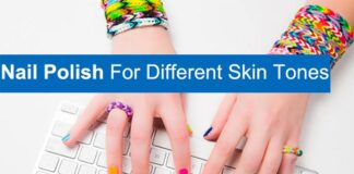 Nail Polish Colour According to Your Skin